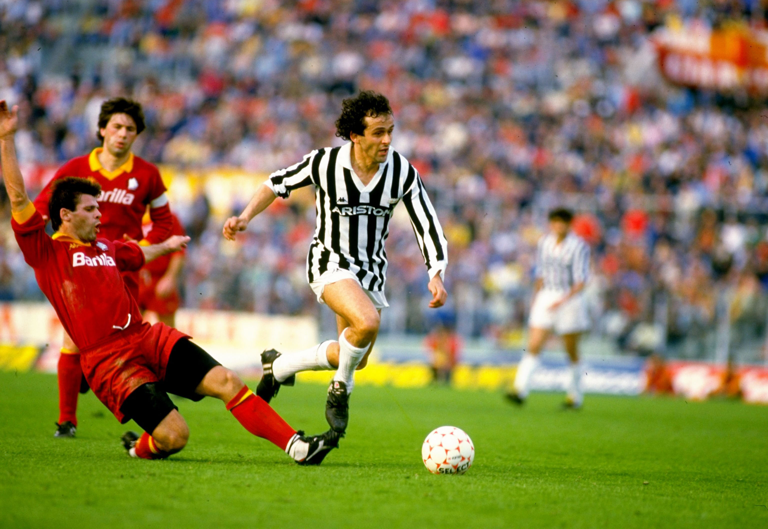 Roma 0 juventus 1 fouling fighting and osvaldo for League table 1984 85