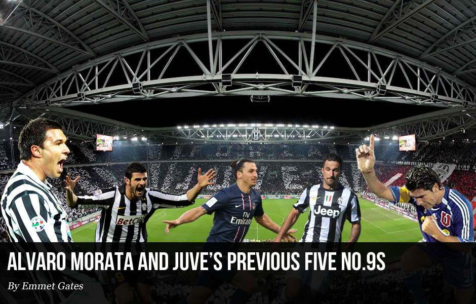 Alvaro Morata and Juve's Previous Five no.9s