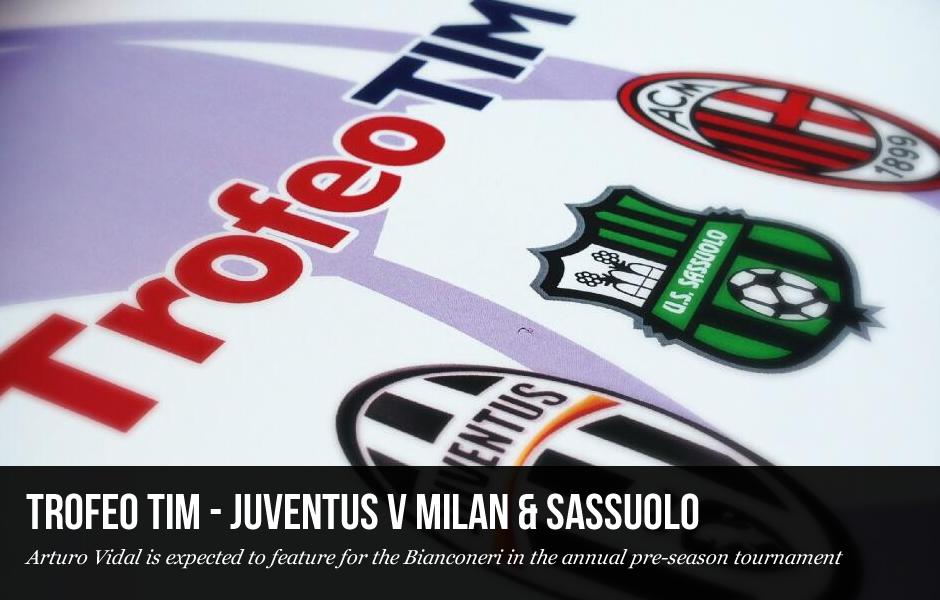 Trofeo TIM - Juventus v Milan & Sassuolo