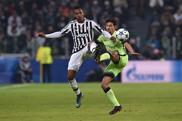 during the UEFA Champions League group stage match between Juventus and Manchester City FC at Juventus Arena on November 25, 2015 in Turin, Italy.