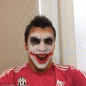 The joker in our pack...Big Mario played his part in both Juve goals.