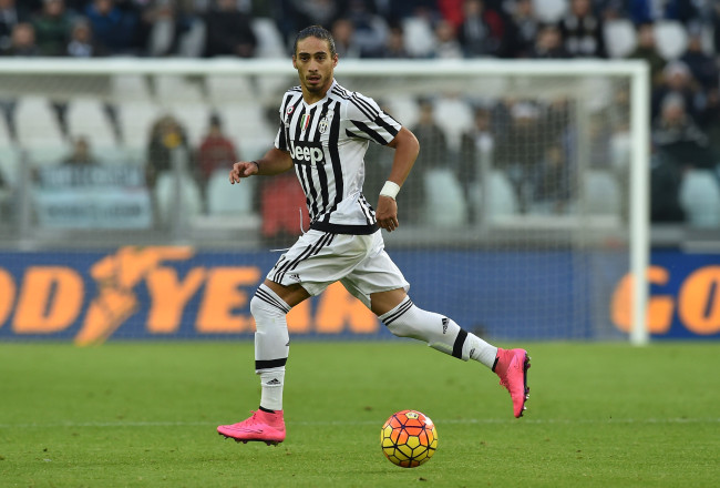 during the Serie A match between Juventus FC and Hellas Verona FC at Juventus Arena on January 6, 2016 in Turin, Italy.