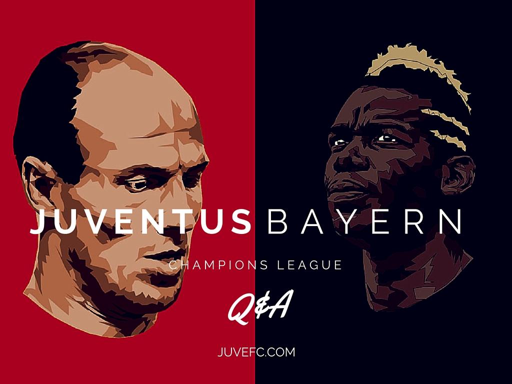champions league bayern juve