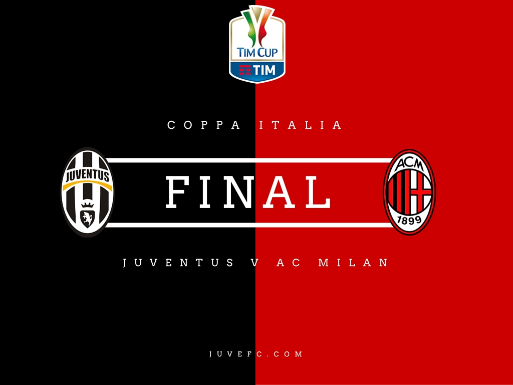 juventus v ac milan coppa italia final - match preview