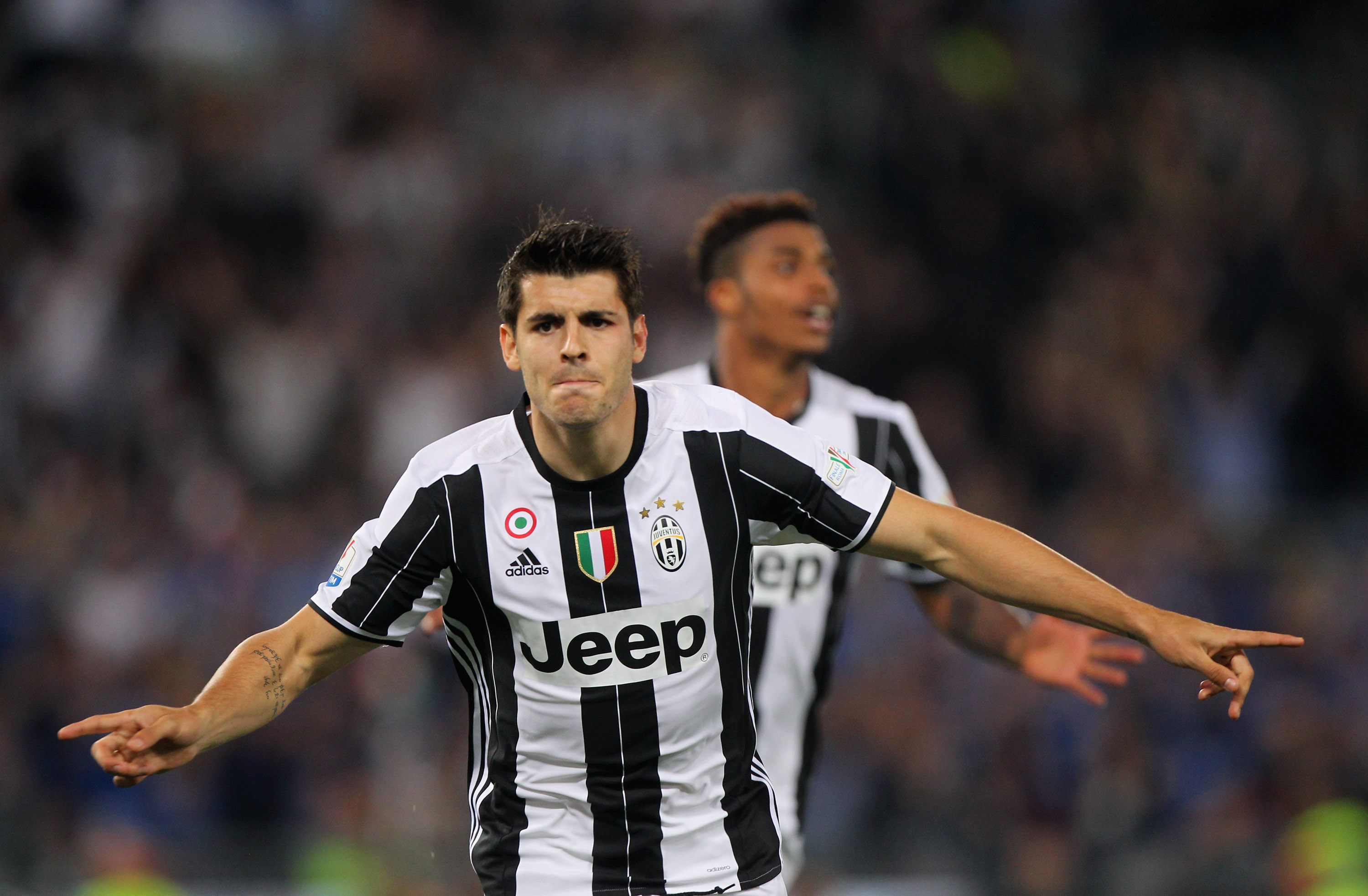 Official Real Madrid Sign Alvaro Morata Juvefc Com
