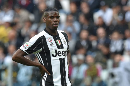 Paul Pogba of Juventus FC looks on during the Serie A match