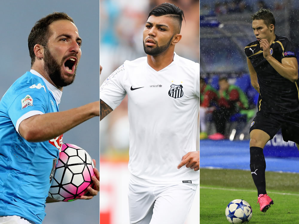 Decisive Days Ahead For Higuain Gabigol And Pjaca Juvefc Com