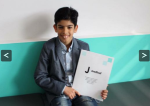 Rashed Al Hajjawi bergabung dengan tim Juve U10 (source : http://www.juvefc.com/)