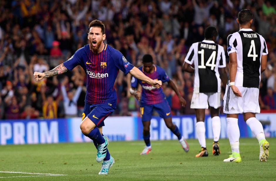 Resultado de imagen de barcelona 3 juventus 0