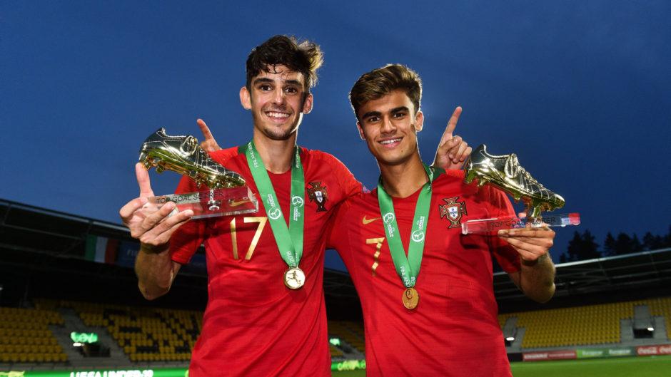 Francisco Trinção et Jota - Euro U19