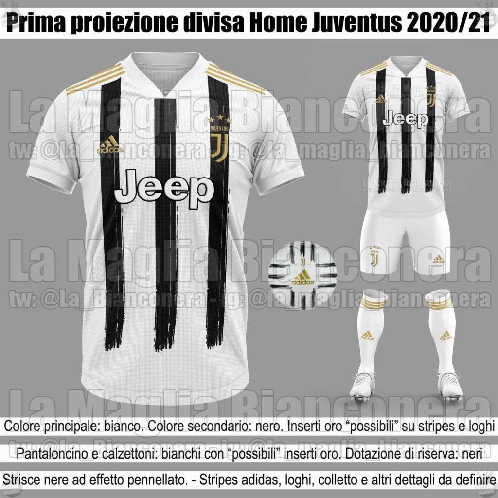 Juventus 2020/21 kits leaked -Juvefc.com