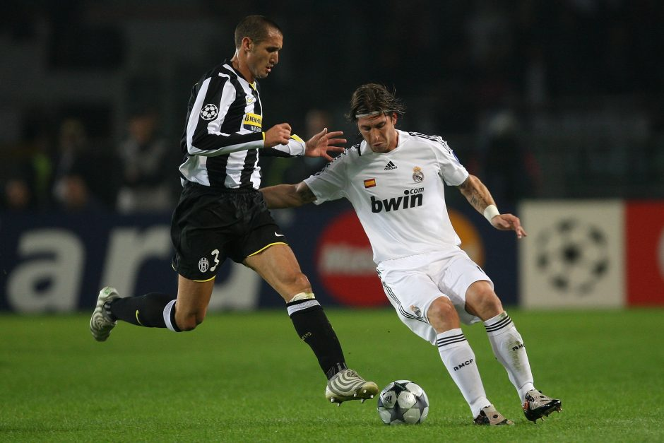 Chiellini Ramos The Best Defender In The World Juvefc Com