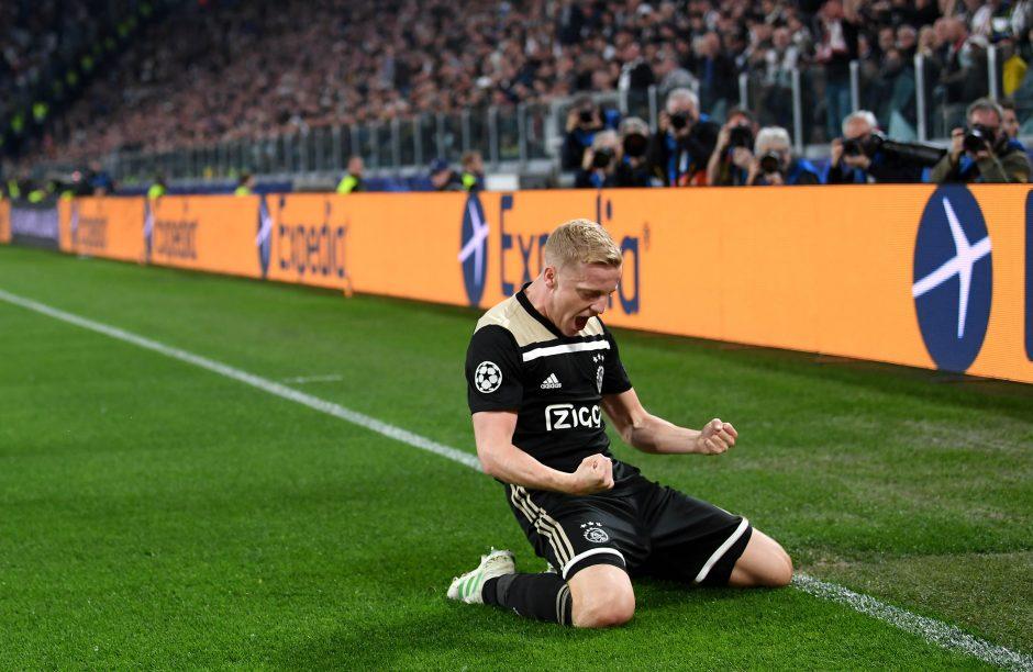 Juventus linked with Donny van de Beek -Juvefc.com