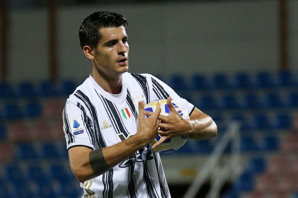 Video: Alvaro Morata unlucky to have goal scrubbed off -Juvefc.com