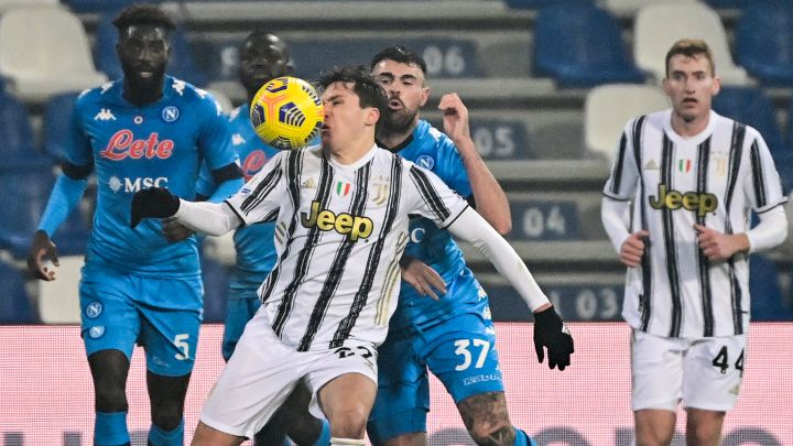Image: Confirmed Juventus squad for Napoli clash with 7 senior players missing