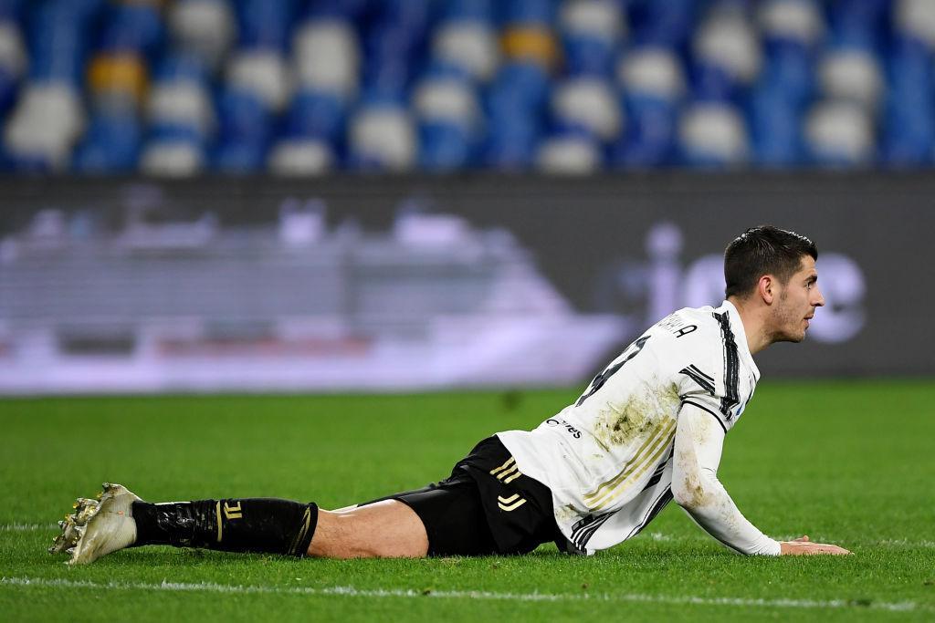 Video: Juventus break the deadlock with Napoli thanks to Alvaro Morata